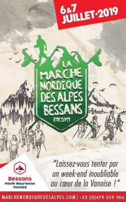 marche nordique alpes bessans